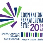 Saskatchewan Libraries Conference 2016 logo