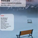 Cover of Voices volume 1, number 1
