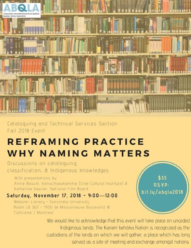 Reframing Practice: Why Naming Matters