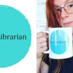 Photo of Amanda Horsman with The unLibrarian logo