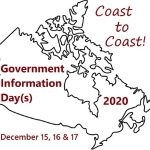 Government Information Day 2020: Coast to Coast!